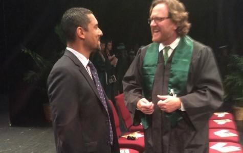 AMHS 1998 alumnus speaks at graduation
