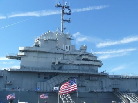 The USS Yorktown at Patriots Point