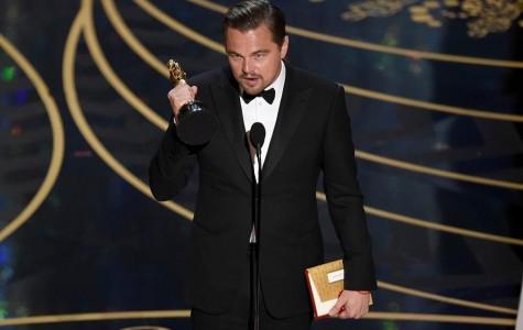 Leo Wins an Oscar!