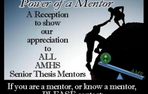 The Power of a Mentor: AMHS's First Annual Mentor Celebration
