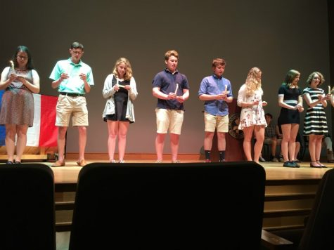 New Foreign Language Honor Society Inductees