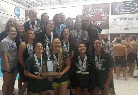 Raptor's Girls Swimming State Champs x 2