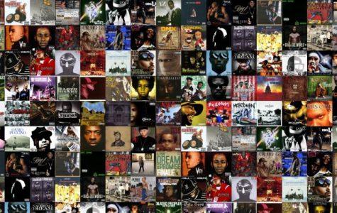 My Favorite Rap Albums (2016)