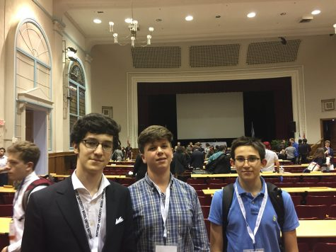 Winthrop Cup: Three AMHS Students Take Model UN