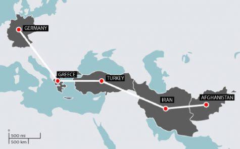 Deportation of Afghan Immigrants in Europe