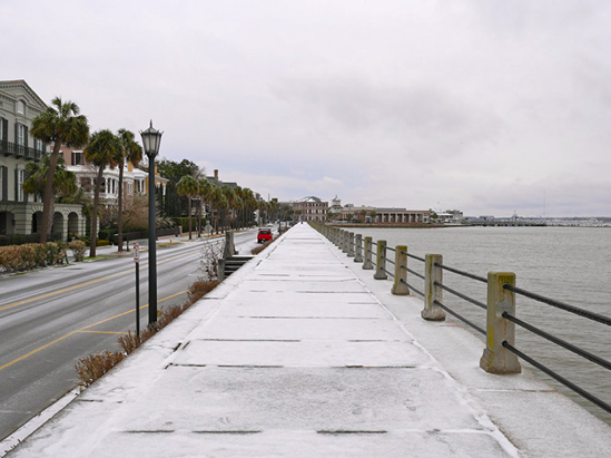Snow in Charleston Last Year