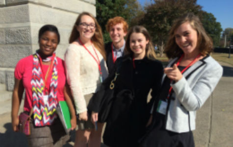 Magnet Students attend Youth in Government Conference