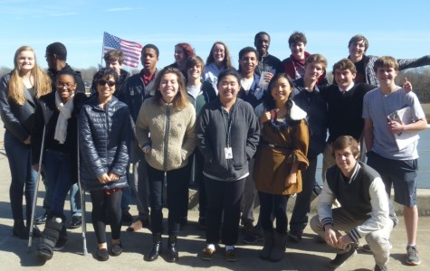 AMHS Students Attend Liberty Hill Symposium Aboard the Yorktown