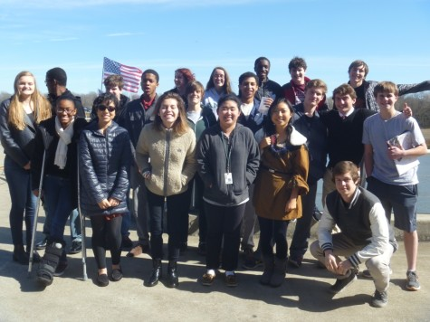 Magnet seniors and juniors attend Boys of Liberty Hill on the USS Yorktown.