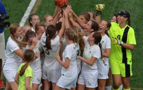 Girls' Varsity Soccer Team Beats #4 Team in the Nation