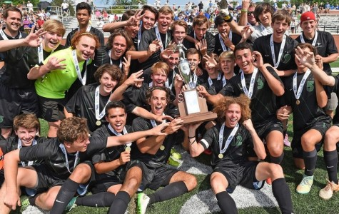 Boys' Soccer Wins Back to Back State Championships!
