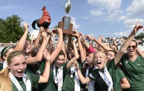 Girls' Soccer Wins Third Consecutive Championship!