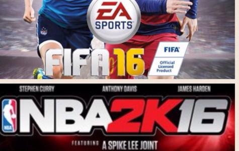 FIFA 16 vs. NBA 2K16
