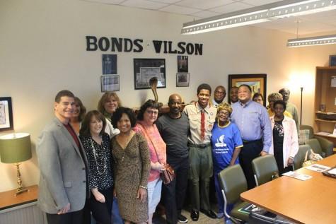 Bonds Wilson Reading Room Dedication