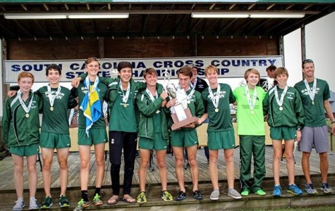 AMHS Cross Country Runs the State