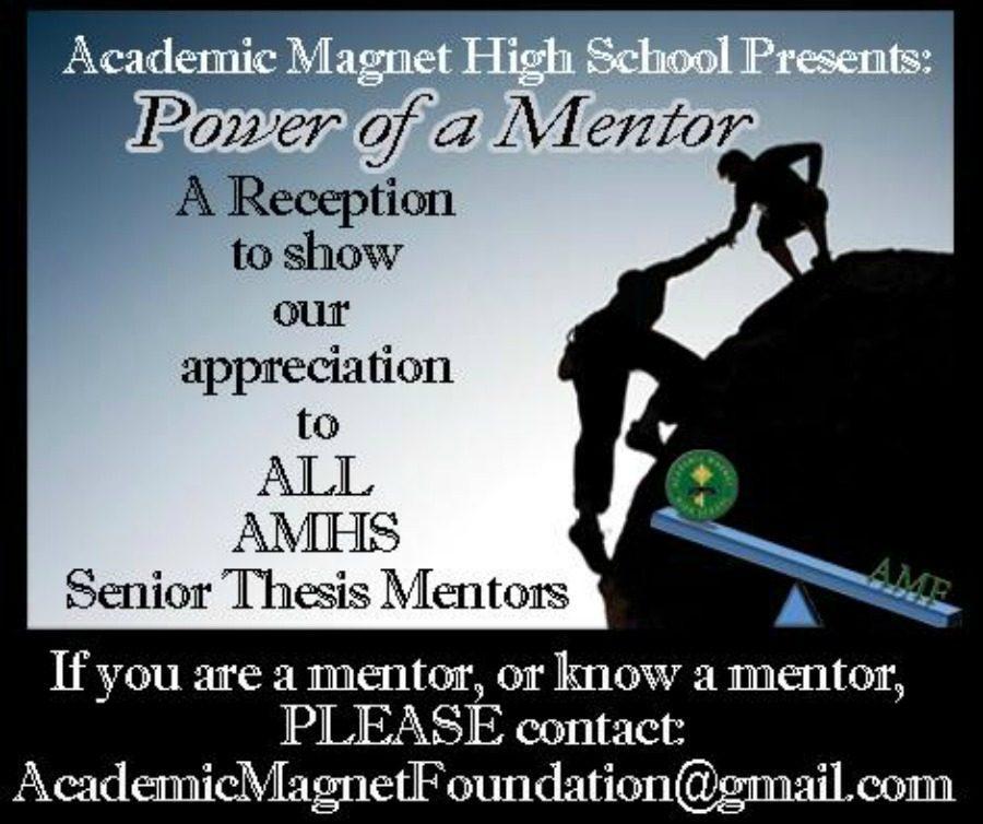 The Power of a Mentor: AMHSs First Annual Mentor Celebration