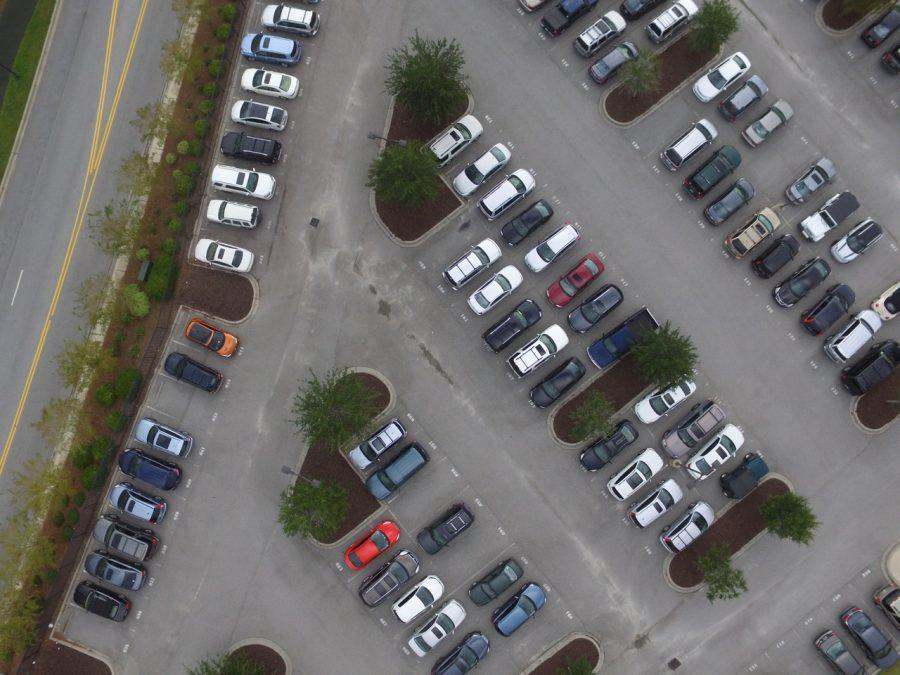 Top+down+view+of+the+Academic+Magnet+parking+lot
