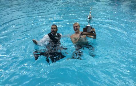 Boys Swimming state runner up