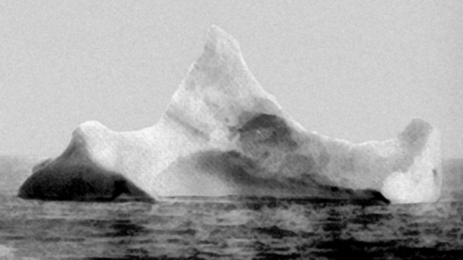 The iceberg that sank the Titanic... or was it the Olympic