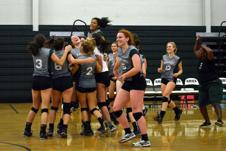 AMHS+Volleyball+Seniors