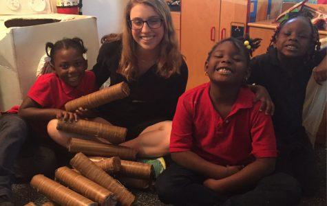 Spanish Classes Visit Matilda Dunston Elementary School