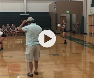 Match Point Set 5 AMHS VS. Johnsonville Varsity Volleyball-Video