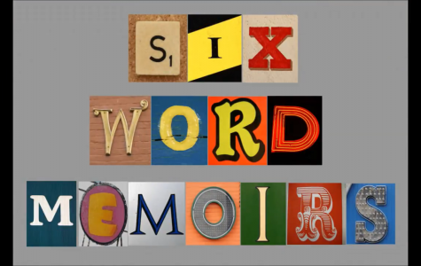 Vote for the AMHS Six-Word Memoir Film