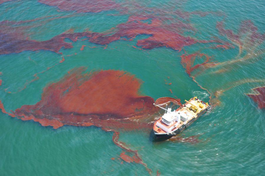 Sponging Away Oil Spills