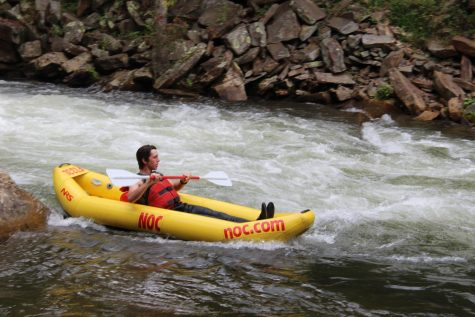 Junior  (Senior) Class Trip: Nantahala Outdoor Center, Bryson City, NC