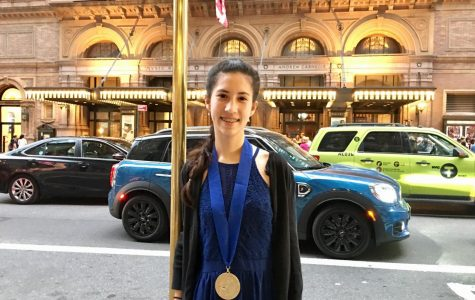 Adriana Carter Wins National Award in Writing Competition