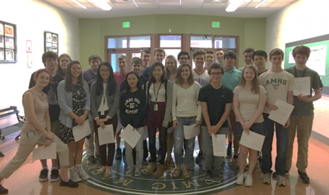 26 AMHS Seniors Named 2018 National Merit Scholarship Semifinalists