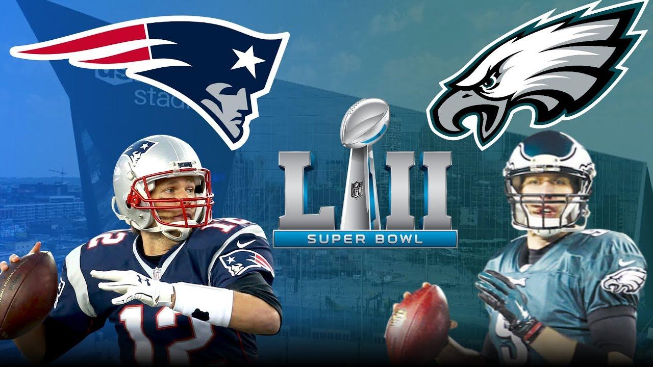 Super Bowl 52- Patriots vs Eagles at US Bank Stadium