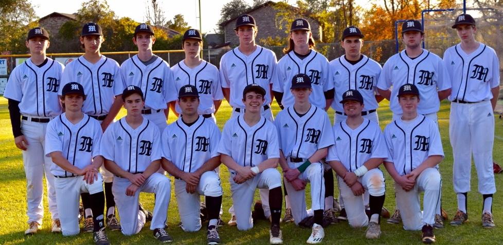 The 2017 Varsity Baseball Team