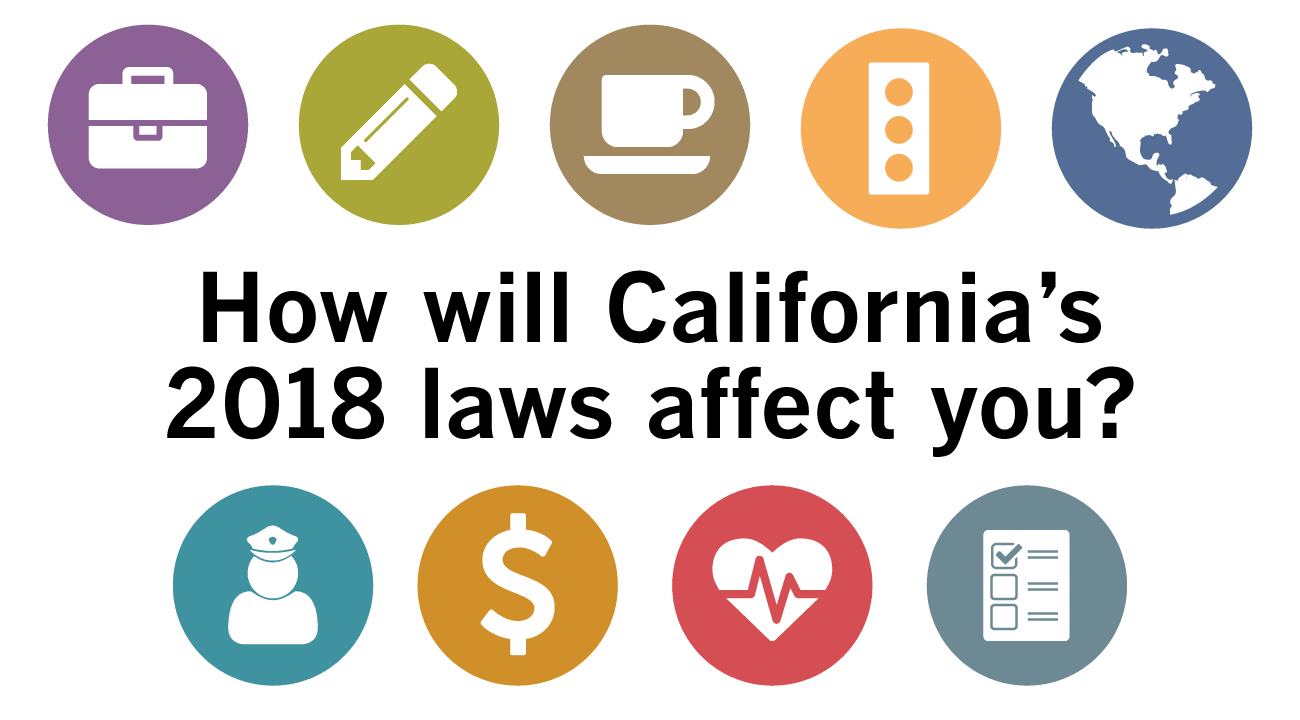 California has brought about changes that will largely affect the daily lives of its residents.
