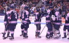 Stingrays Bring Home A Win for Pink in the Rink Night