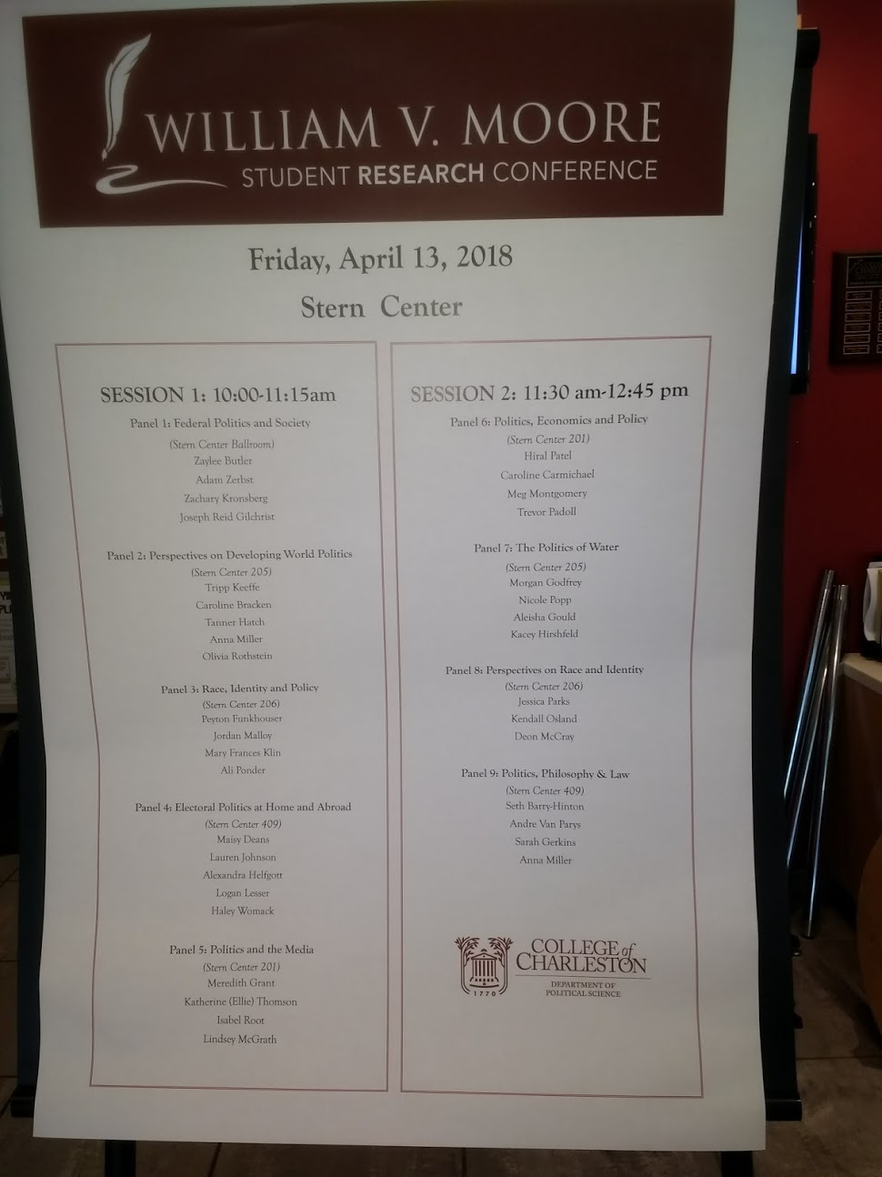 The+program+of+all+of+the+Moore+Conference+participants.