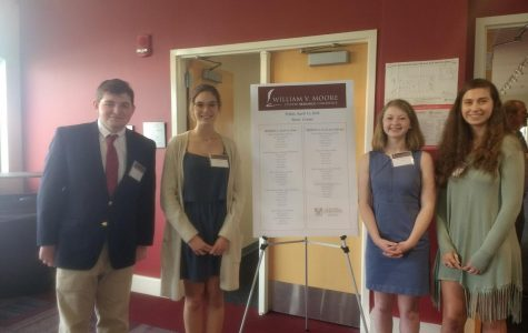 AMHS Students Participate in the Moore Conference