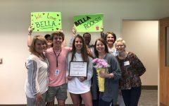 Bella Rocco wins Volunteer of the Year