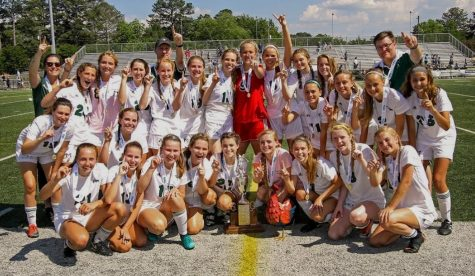 AMHS Girls Soccer Team Wins State Championship
