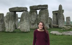 Allyson day-tripped to Stonehenge from London