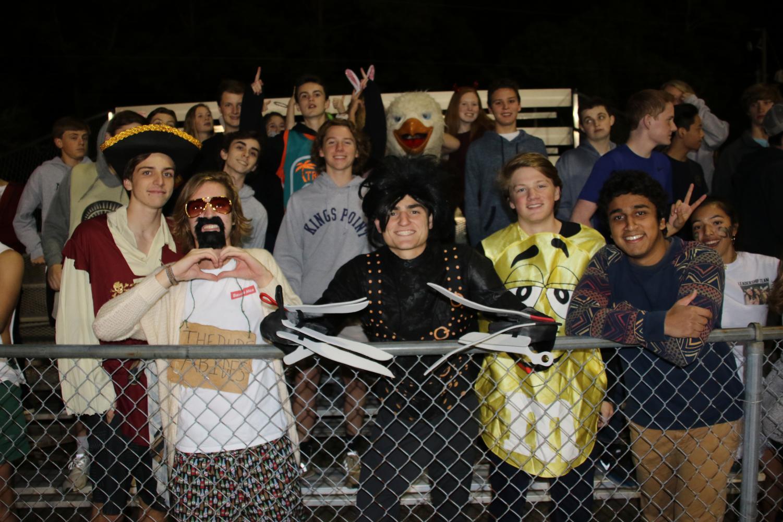 The+Bird+Cage+celebrates+senior+night+with+a+halloween+theme.