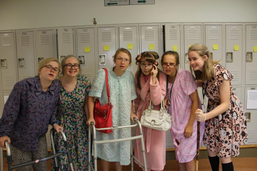 Thursday's theme was generation day.