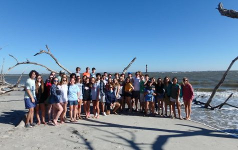 Marine Biology Field Trip to Folly