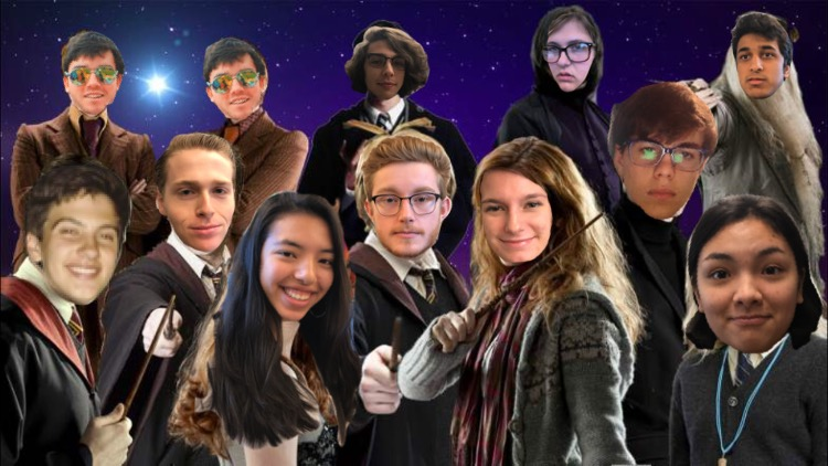 The new and improved Harry Potter cast.