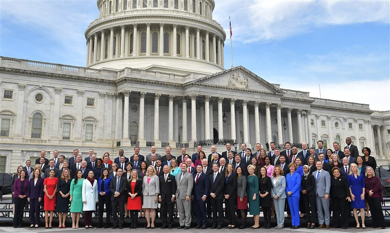 The+116th+Congress+has+many+new+faces+%28mostly+Democrat%29.