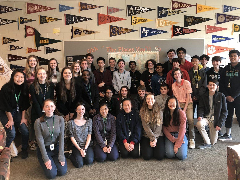 Magnet's Varsity and JV Academic Teams