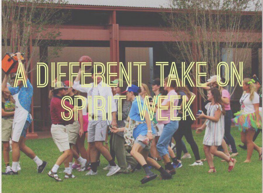 A Different Take on Spirit Week
