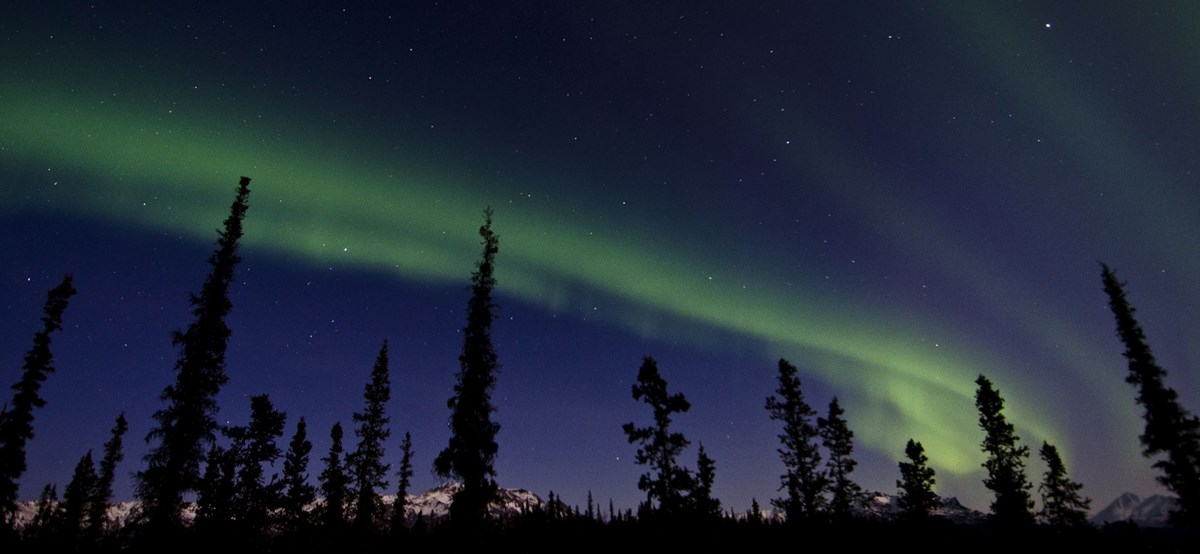 Fairbanks, Alaska is the best location to see the aurora borealis in the USA