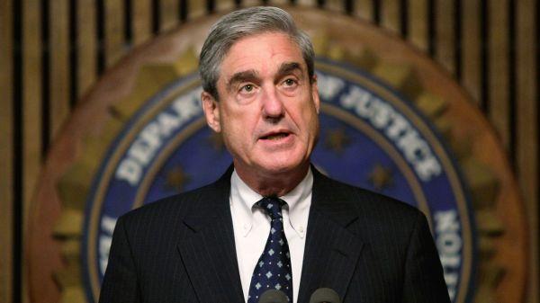 Special Counsel Robert Mueller; courtesy of Getty Images