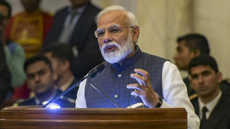Prime Minister of India Narendra Modi urged Pakistan to return a captured Indian pilot home.